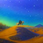 Fuga dalla tempesta di sabbia - Cristian Pankoff