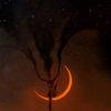 La Luna tramonta e Oscurita scende sul mondo