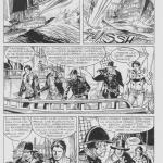 Michele Rubini: Zagor #606 pag. 63. Tavola originale.