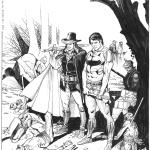 Michele Rubini - illustrazione Zagor e Cain
