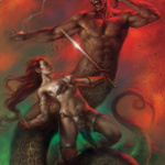 Lucio Parrillo: Red Sonja Vultures Circle # 5