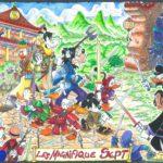 Umberto Sacchelli: commission - I magnifici sette - piu soggetti - sfondo complesso
