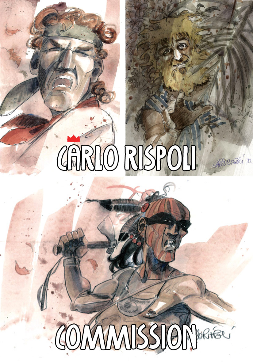 Cosimo Rispoli: Commission