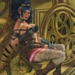 Hatty steampunk di Cosimo Ferri