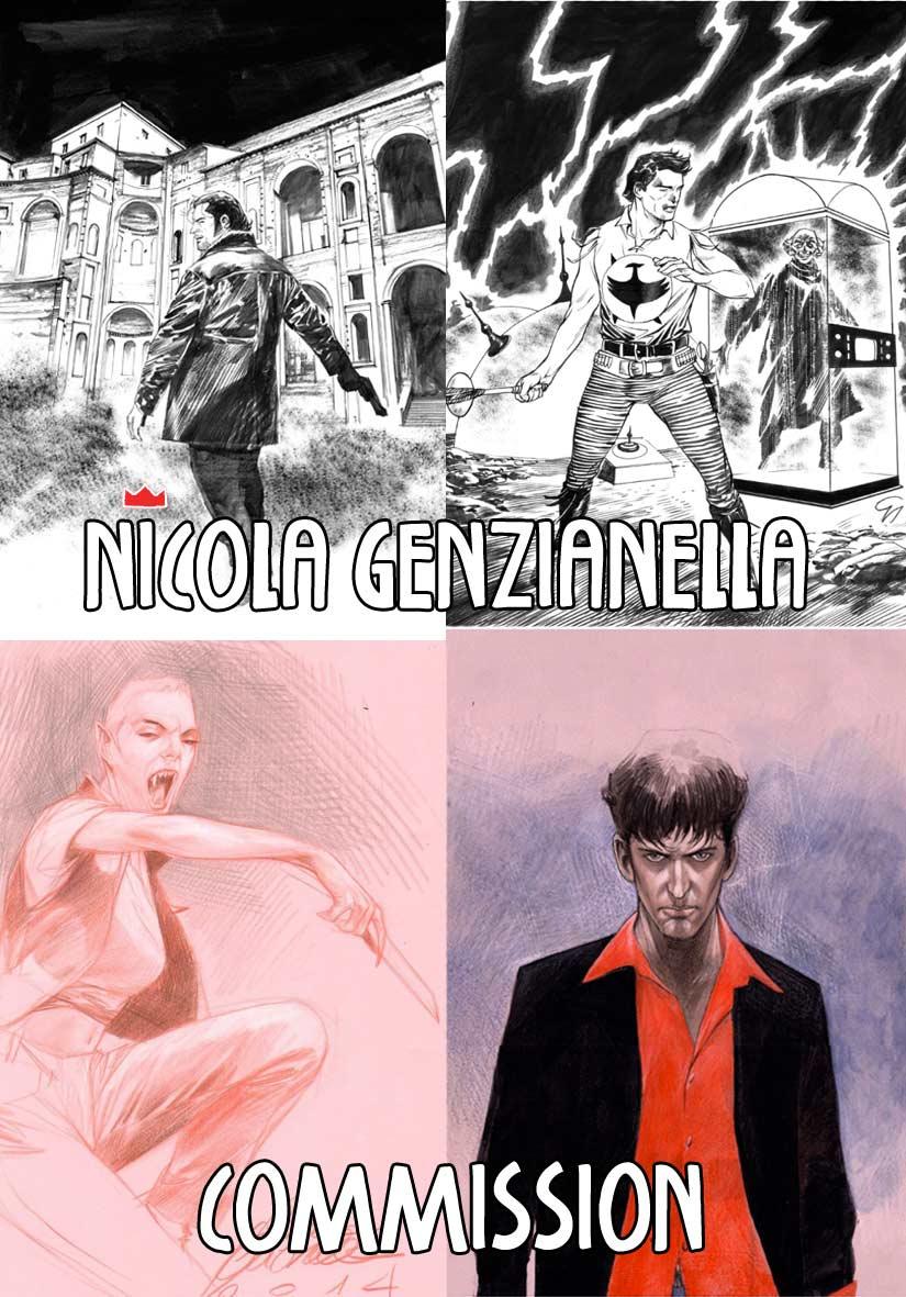 Nicola Genzianella: Commission