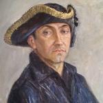 Oxana Sakhazeva - Uomo con cappello