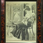 Lino Selvatico: Donna che cuce