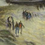 Tommaso Scasella - Spiaggia 1908 - particolare