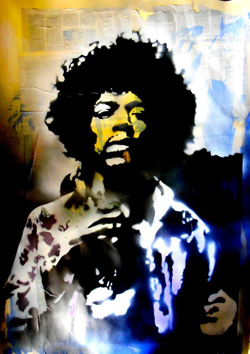 Vincenzo Staglianò: Jimi Hendrix